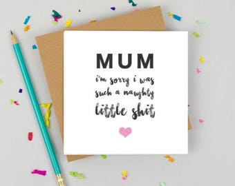 Mothers day - Greeting Card - Funny Card