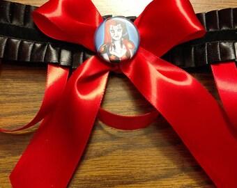 Harley Quinn garter