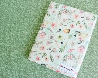 Rustic Floral Book Sleeve