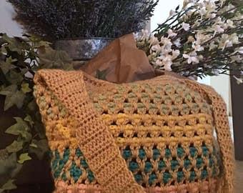 Handmade Crochet Purse/Tote