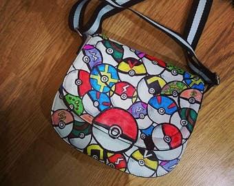 Handmade Pokeball Bag