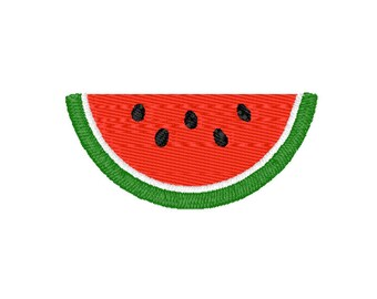 Watermelon Machine Embroidery Design – Instant Download (PES, DST, and MORE)