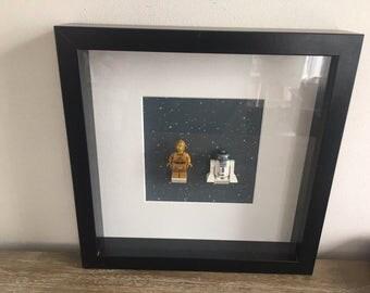 LEGO Star Wars R2D2 and C3PO framework