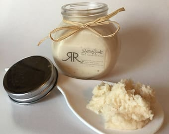 Vanilla whipped body butter - organic, natural ingredients - creamy body lotion - free shipping