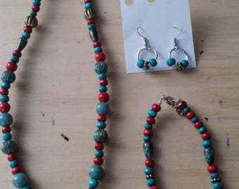 Red-turquoise