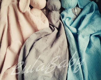 Large baby bunny blanket