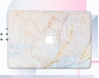 Tender Gold Marble Macbook Pro Case Gold Macbook Pro Marble Pink Marble Macbook Case 13 Macbook Pro Gold 13 Macbook Gold Marble Cover mCM38
