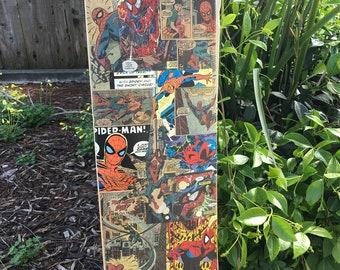 Spider-Man Comic Skateboard Deck