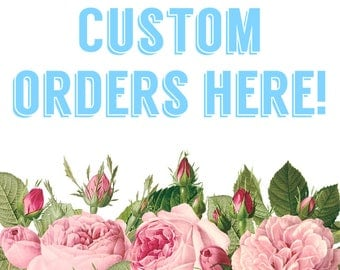 Made to order~