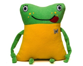 """Pillow-toy """"Funny Frog"""""""