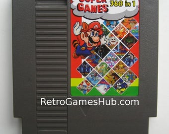 NES 360 Games In 1 Multi Cartridge Inc. Super Mario