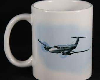 High Flying mug, Custom Mug, Personalized Gift, Marines, Air Force, Airplanes, Special Gift