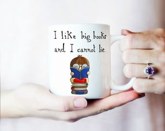 Book Lover Mug, Reader Mug, Funny Book Mug, Inspirational Coffee Mug, Motivational Mug, Amazing White Ceramic 11OZ or 15OZ mug