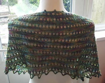 Beautiful hand knit cowl/scarf