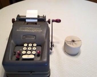 Vintage Remington Rand Adding Machine