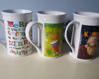 Royal Norfork christmas mugs