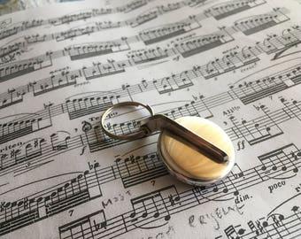 Keychain - vintage sax key