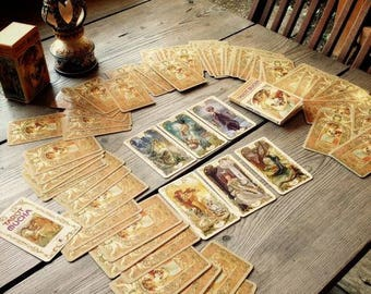 Psychic intuition with 3 card Reading