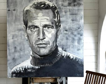 oil and acrylic portraits
