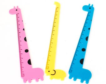 Animal shaped ruler