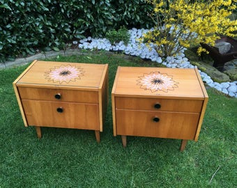 Vintage bedside tables, bedside table