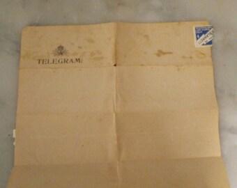 Telegram from 1945