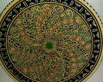 Decorative plate collection: Morocco