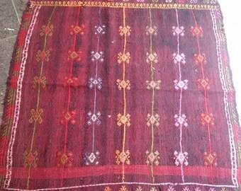 Oushak Rug,Anatolıan Cıcım Kılım,Turkish Handmade Smaall Decoratıve Cıcım Rugs,3x2ft,Home Offıce Decor, Home Living,Turkish rug,desing rug,