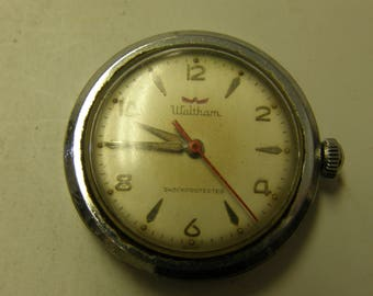Vintage Waltham Watch - Manual - Running