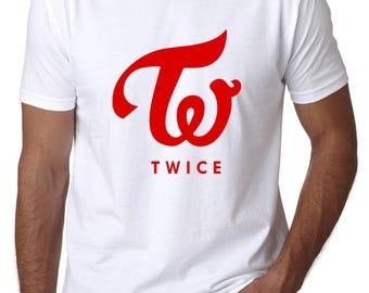 TWICE logo, kpop t-shirt