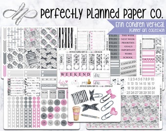 Planner Girl Collection  // A La Carte // Erin Condren Vertical  and Happy Planner Classic [017]