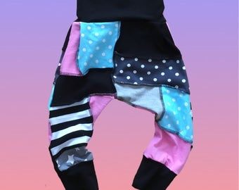 Puzzle toddler pants