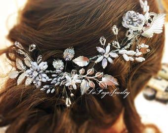Wedding Crown,Bridal Headpiece,Hair accessories for wedding,Bridal,Swarovski,Hair style,hair accessories,Wedding Accessories,set of 2,party