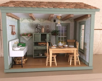 Country Kitchen Roombox