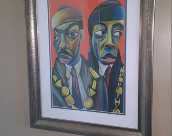 Coming to America Caricature