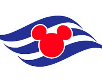 Disney Cruise Line Logo Iron On| Heat Transfer Vinyl for Shirts, Bags, Pillows | Fish Extender Gift | DCL | Mickey