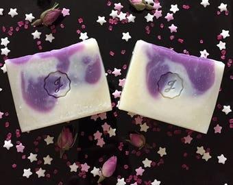 Pink Swirl Handmade Soap