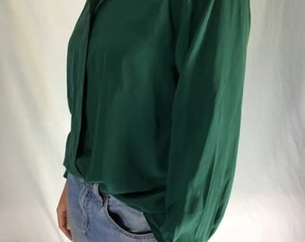 Vietnamese 100% Large Silk Shirt