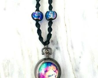 NOW: Galaxy Hemp Necklace