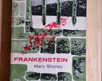 Frankenstein - Mary Shelley - Horror - 1960 - Paperback