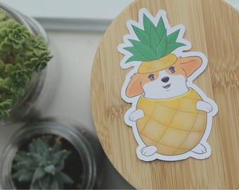 Corgi Pineapple