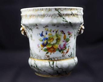 Antique Porcelain Planter European
