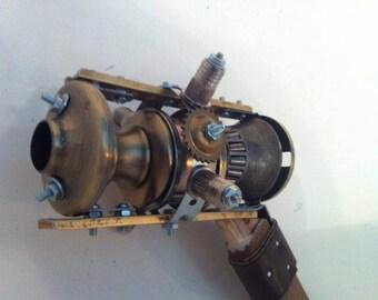 Hunter Maestro. Thronium Accelerator cannon/Steampunk gun