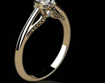 engagement ring, gold ring with diamonds, diamonds ring  Ask a question