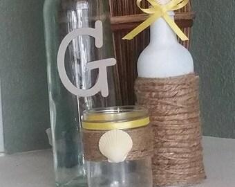 Summer Beach Themed Bottles