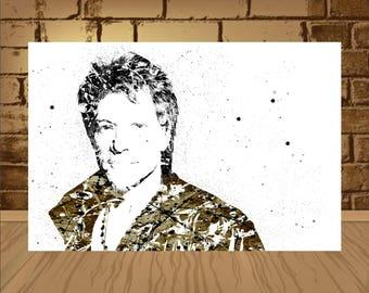 Jon Bon Jovi Poster, Jon Bon Jovi Print, Jon Bon Jovi Art, wotercolor,Jon Bon Jovi Decor, Home Decor, Gift Idea,art,poster,print
