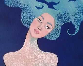 Mermaid daydreams