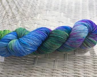 Roll Of The Dice OOAK 80/20 BFL Nylon Sock Yarn