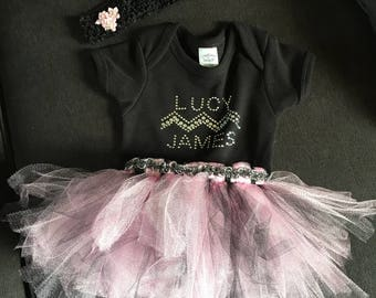 Personal Onesie and Matching TuTu