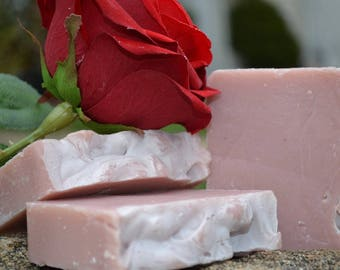 Stop and Smell the Roses Vegan Handcrafted Soap